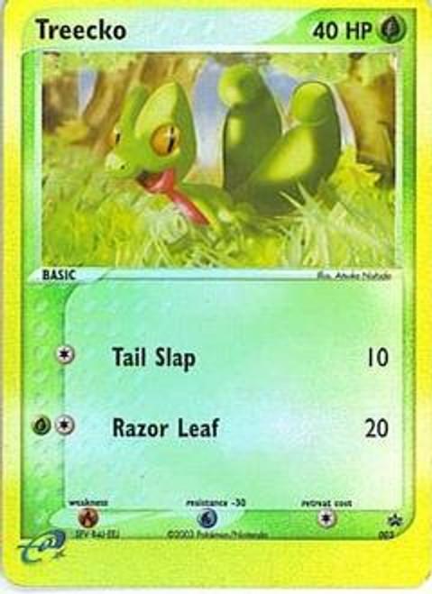 Pokemon Promo Cards Rare Reverse Holo Treecko #3