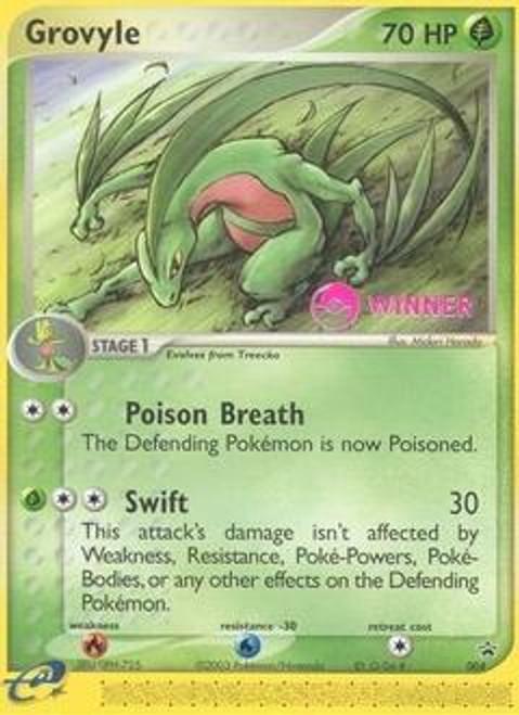 Pokemon Promo Cards Rare Grovyle #4