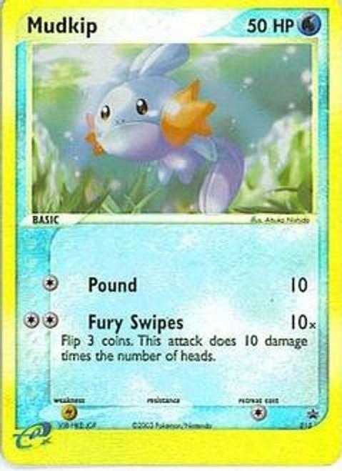 Pokemon Promo Cards Rare Reverse Holo Mudkip #10