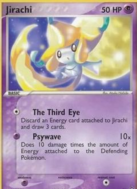 Pokemon Promo Cards Rare Jirachi #21