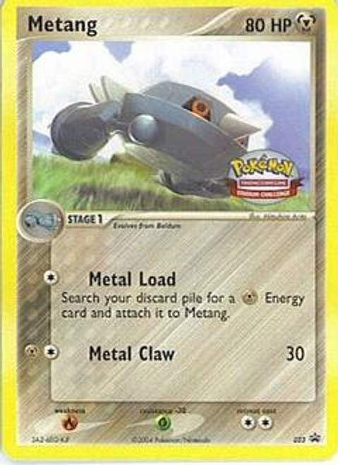 Pokemon Promo Cards Rare Metang #23