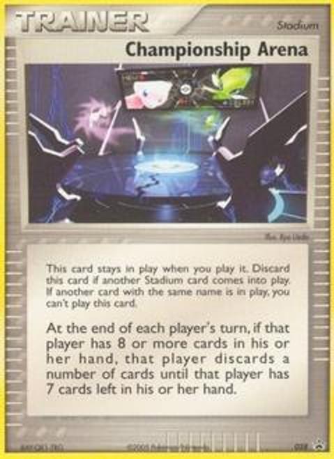 Pokemon Promo Cards Promo Championship Arena #28