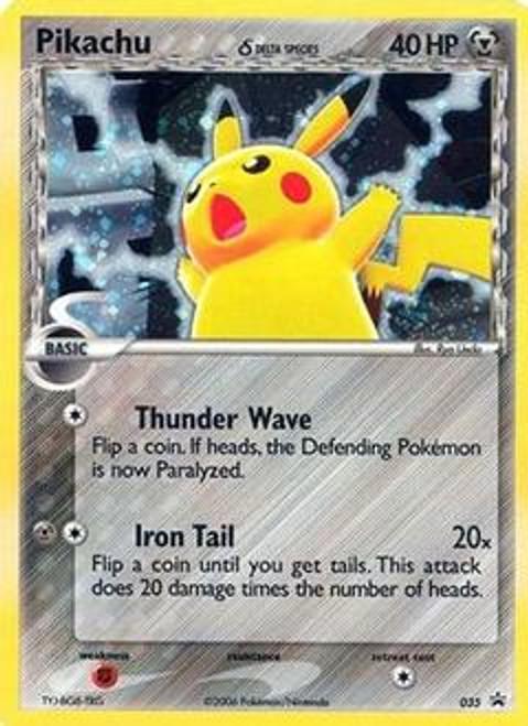 Pokemon Promo Cards Rare Holo Pikachu (Delta Species) #35
