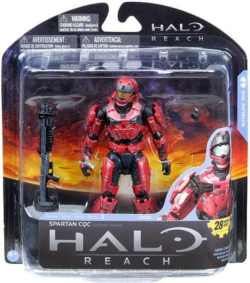 McFarlane Toys Halo Reach Series 2 Spartan CQC Action Figure [Red]