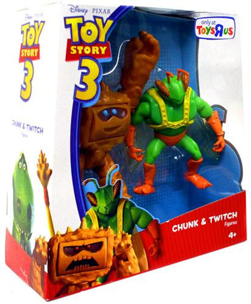 Toy Story 3 Chunk & Twitch Exclusive Action Figure 2-Pack