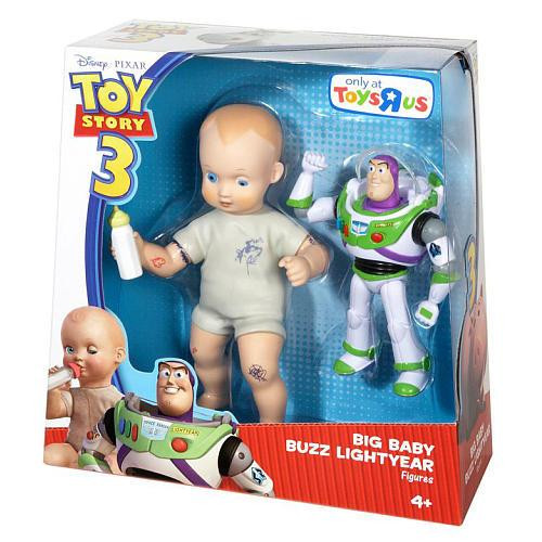 Toy Story 3 Big Baby & Buzz Lightyear Exclusive Action Figure 2-Pack