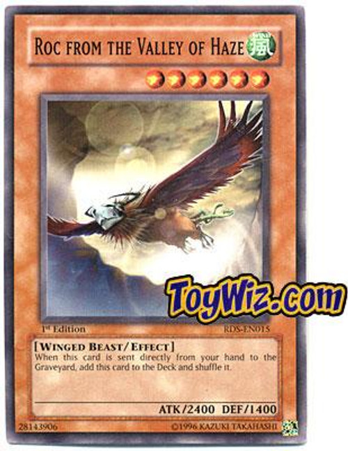 YuGiOh Rise of Destiny Common Roc from the Valley of Haze RDS-EN015