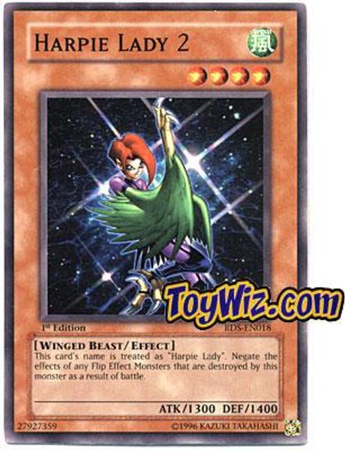 YuGiOh Rise of Destiny Common Harpie Lady 2 RDS-EN018