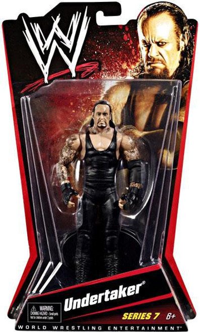 WWE Wrestling Series 7 Undertaker Action Figure