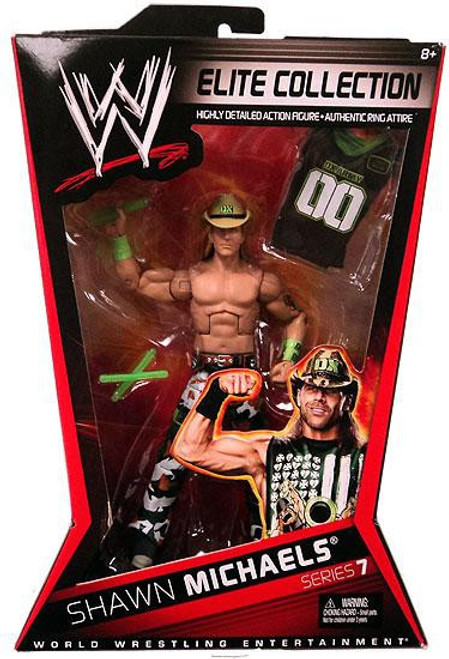 WWE Wrestling Elite Series 7 Shawn Michaels Action Figure