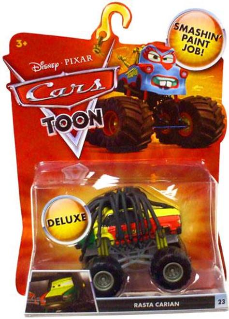 Disney Cars Cars Toon Deluxe Oversized Rasta Carian Diecast Car [Toon Edition]
