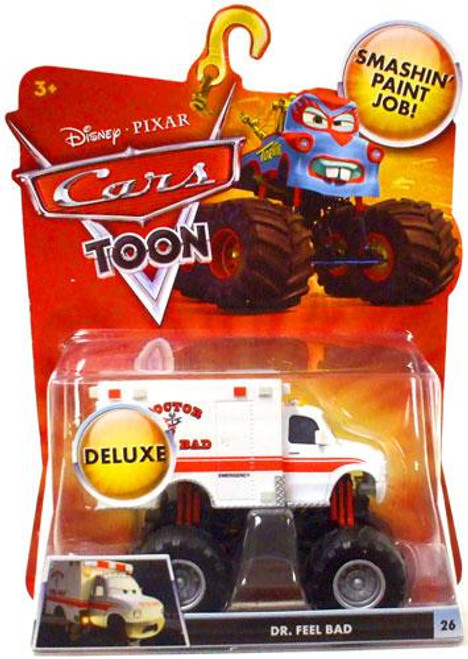 Disney Cars Cars Toon Deluxe Oversized Dr. Feel Bad Diecast Car [Deluxe]