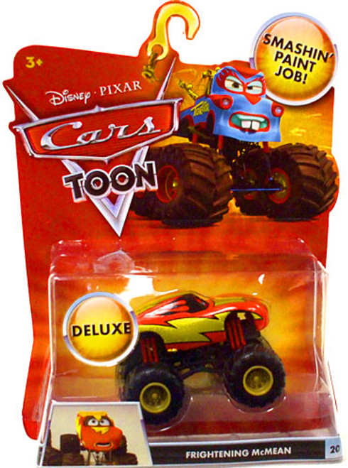 Disney Cars Cars Toon Deluxe Oversized Frightening McMean Diecast Car