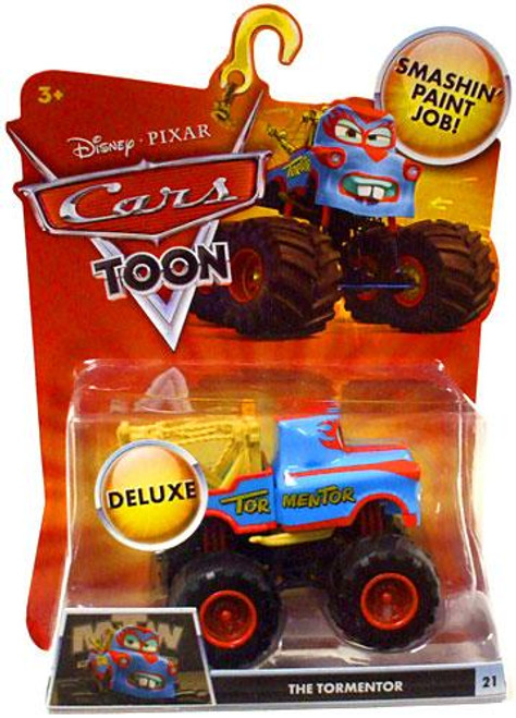 Disney Cars Cars Toon Deluxe Oversized The Tormentor Diecast Car