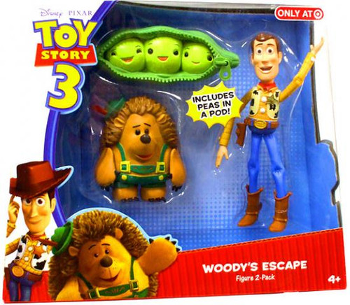 Toy Story 3 Woody's Escape Exclusive Action Figure 2-Pack