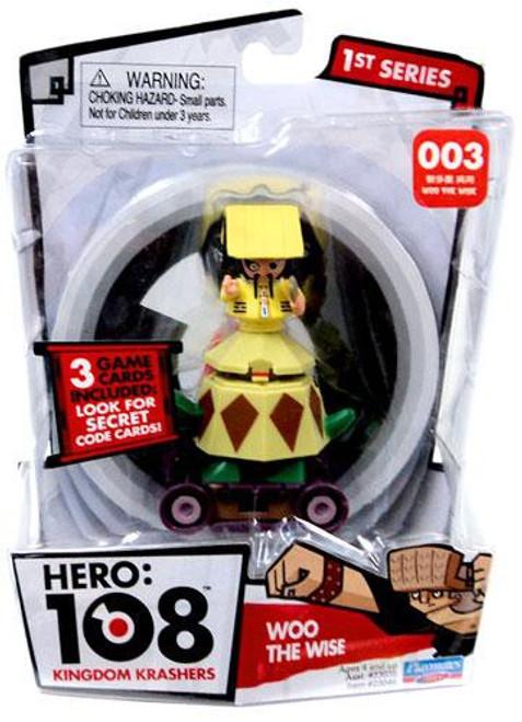 Hero: 108 Kingdom Krashers Series 1 Woo the Wise Action Figure #003