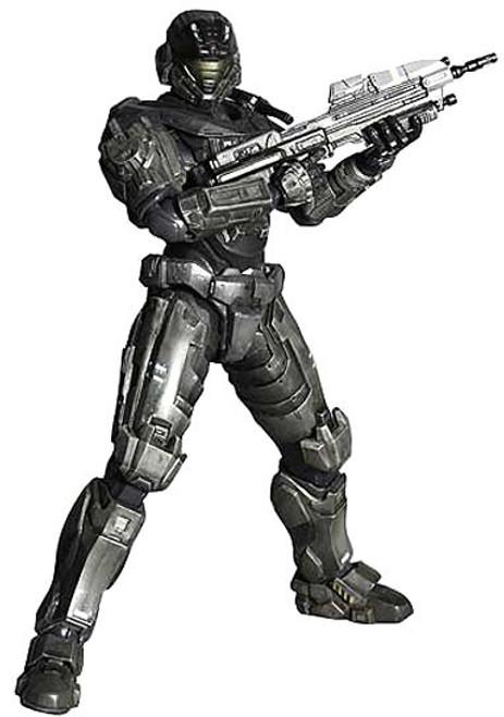 Halo Reach Play Arts Kai Series 1 Noble Six Action Figure