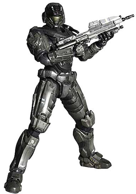 Halo Reach Play Arts Kai Series 1 Noble Six Action Figure