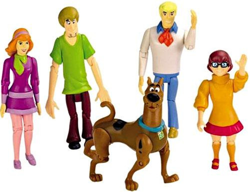 Scooby Doo Mystery Mates Mystery Solving Crew Action Figure 5-Pack