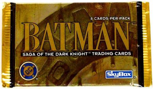 Batman Saga of the Dark Knight Trading Card Pack