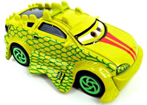 Disney Cars Loose Komodo Diecast Car [Loose]