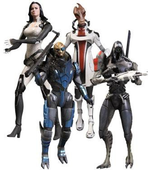 Mass Effect 3 Series 2 Set of 4 Action Figures
