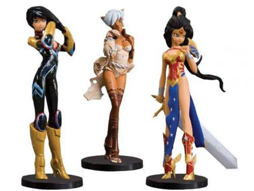 DC Ame-Comi Heroine Series 2 Heroine Series 2 Set of 3 PVC Figures