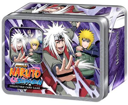 Naruto Shippuden Card Game Untouchable Collector Jiraiya & the Fourth Hokage Collector Tin