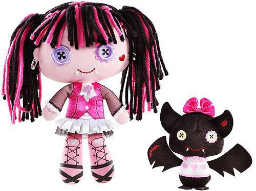 Monster High Friends Draculaura & Count Fabulous Plush Dolls