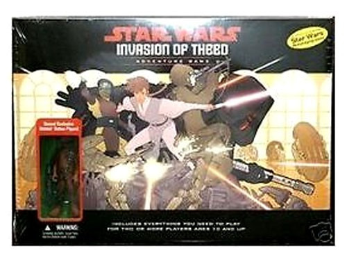 Star Wars Games Prototype Invasion of Theed Adventure Game Exclusive RPG