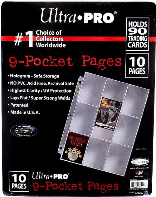 Ultra Pro Card Supplies Hologram Series 9-Pocket Pages