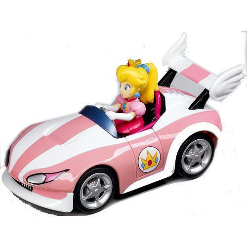 Super Mario Mario Kart Wii Pull & Speed Peach 3.5-Inch Vehicle #19306 [Wild Wing]