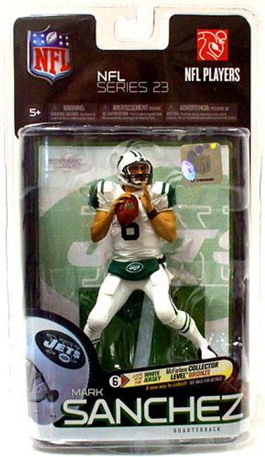 McFarlane Toys NFL New York Jets Sports Picks Series 23 Mark Sanchez Action Figure [White Jersey]