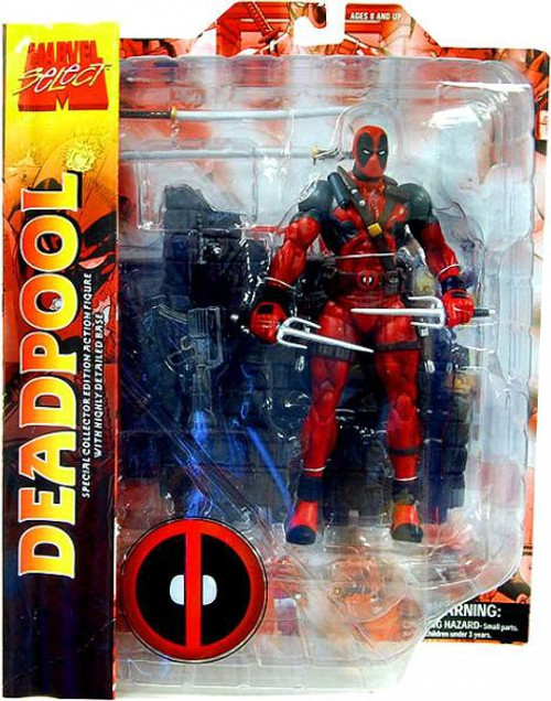 Marvel Select Deadpool Action Figure (Pre-Order ships August)