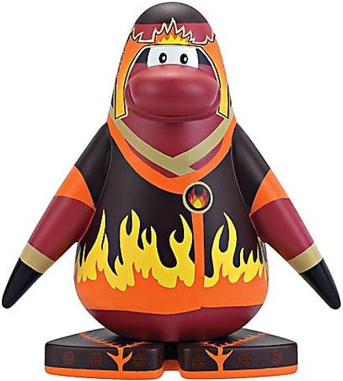 Club Penguin Fire Ninja 5 1/2-Inch Vinyl Figure