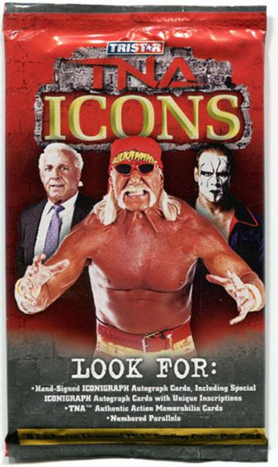 TNA Wrestling 2010 TNA Icons Trading Card Pack