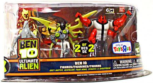Ben 10 Ultimate Alien Exclusive Action Figure 5-Pack [2 of 2]