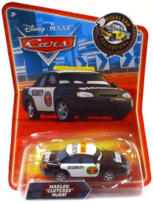 "Disney Cars Final Lap Collection Marlon ""Clutches"" McKay Exclusive Diecast Car"