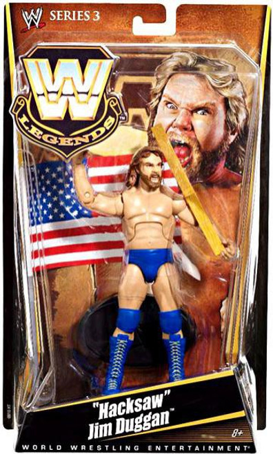 WWE Wrestling Legends Series 3 Hacksaw Jim Duggan Action Figure