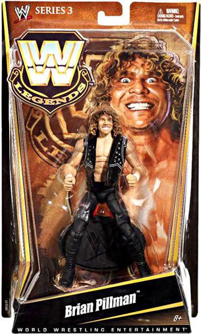 WWE Wrestling Legends Series 3 Brian Pillman Action Figure