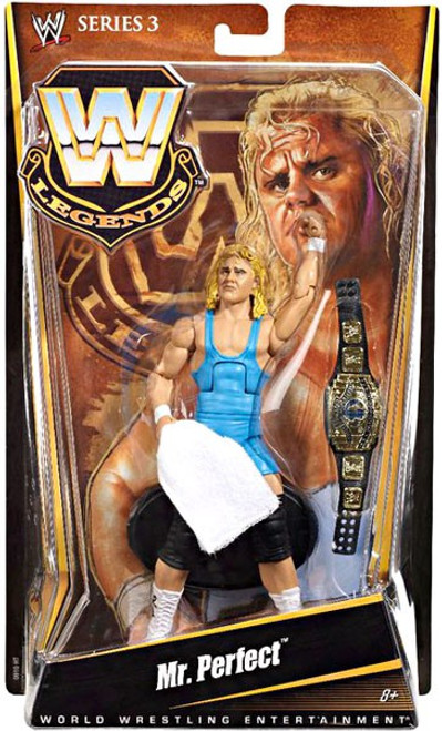 WWE Wrestling Legends Series 3 Mr. Perfect Action Figure