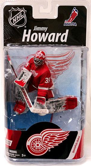 McFarlane Toys NFL Detroit Red Wings Sports Picks Series 27 Jimmy Howard Action Figure [Red Jersey]