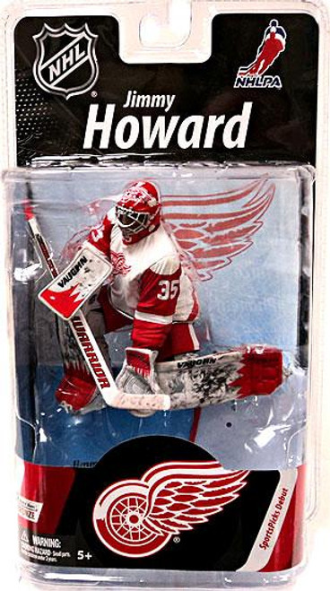 McFarlane Toys NHL Detroit Red Wings Sports Picks Series 27 Jimmy Howard Action Figure [White Jersey]