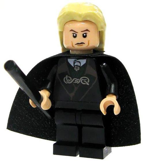 LEGO Harry Potter Loose Lucius Malfoy Minifigure #1 [Black Suit Loose]