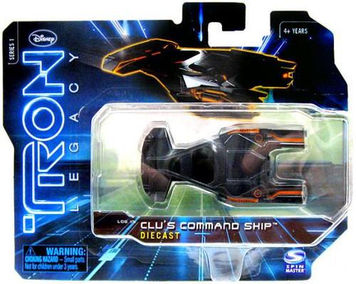 Tron Legacy Series 1 Clu's Command Ship Diecast Vehicle