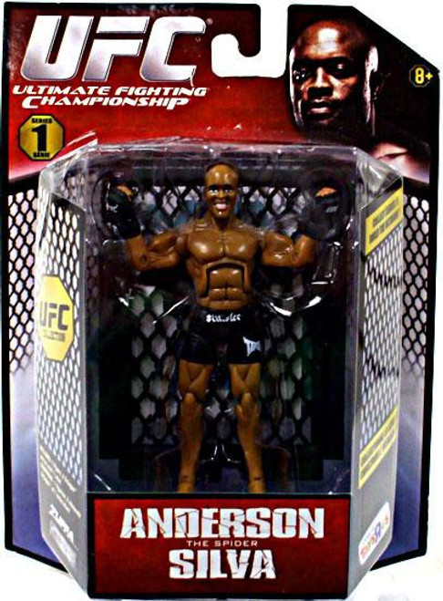 UFC Bring It On Build the Octagon Series 1 Anderson Silva Exclusive Action Figure