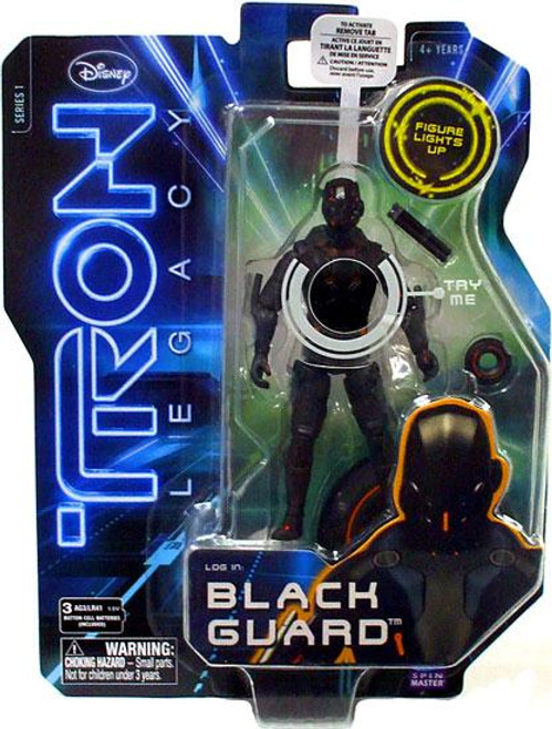Tron Legacy Core Black Guard Action Figure