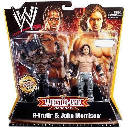 WWE Wrestling WrestleMania 26 R-Truth & John Morrison Exclusive Action Figure 2-Pack