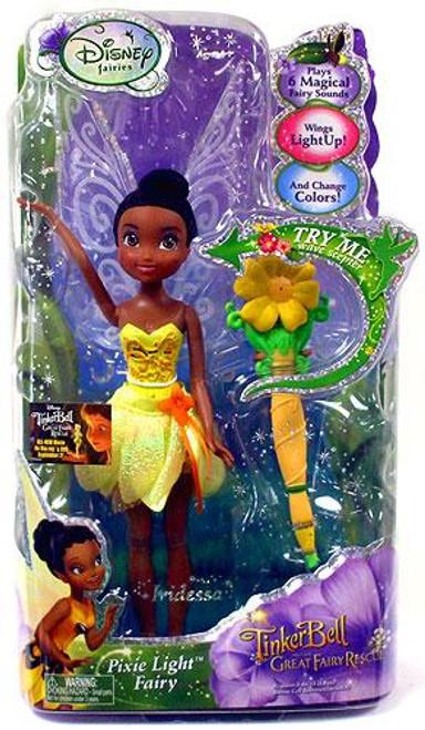 Disney Fairies Tinker Bell & The Great Fairy Rescue Pixie Light Fairy Iridessa 9-Inch Doll