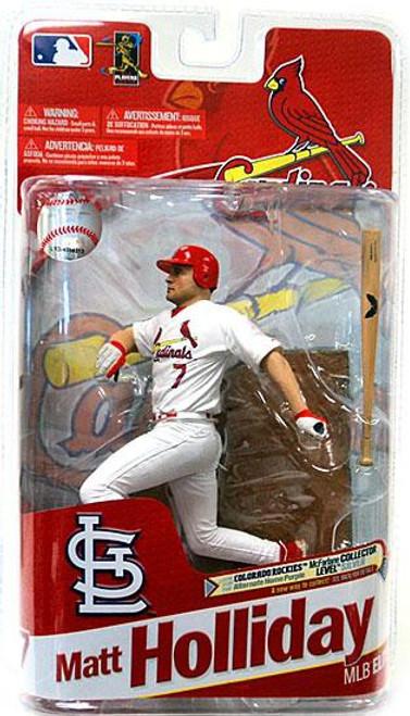 McFarlane Toys MLB St. Louis Cardinals Sports Picks 2011 Elite Series Matt Holliday Action Figure [White Jersey]